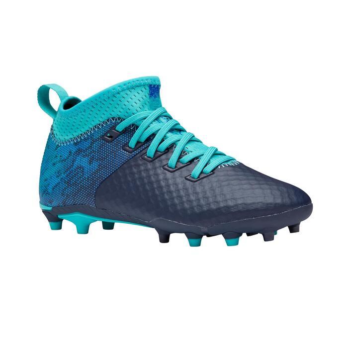 Chaussure de football enfant AGILITY 900 MESH FG Bleue / Turquoise