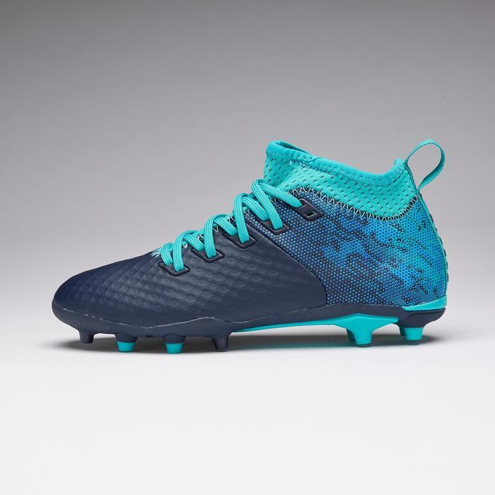 Voetbalschoenen Agility 900 mesh FG blauw/turkoois