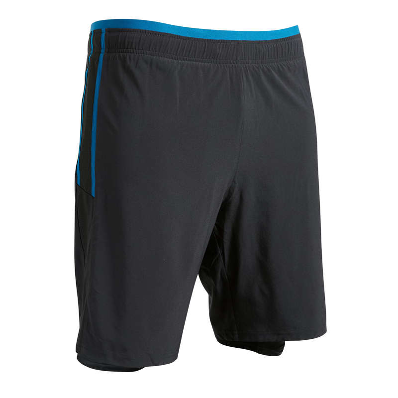 AD WARM WEATHER OUTFIT MATCH & TRAINING Football - Adult 3-in-1 F540 - Black/Blue KIPSTA - Football Clothing