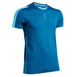 Camiseta de Fútbol Kipsta F540 adulto azul de Prusia