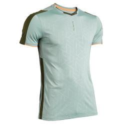 Voetbalshirt voor volwassenen F540 grijsgroen webexclusief