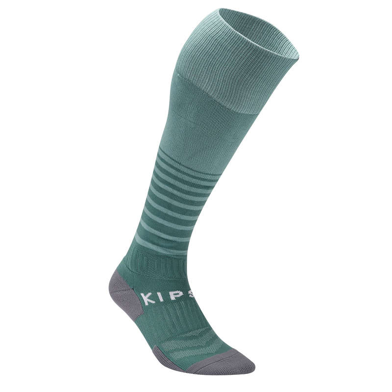 ADULT FOOT SOCKS Football - F500 Adult Football Shirt KIPSTA - Football Clothing