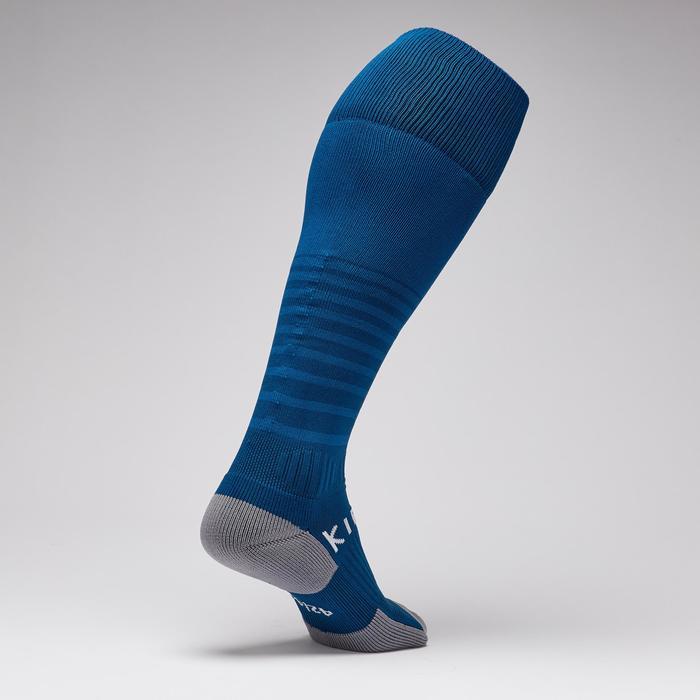 Chaussettes de football adulte F500 bleu pétrole