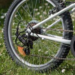 Kindermountainbike Rockrider ST 120 20 inch 6-9 jaar blauw