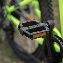 Mountainbike Kinderfahrrad 20 Zoll Rockrider ST 500 neongelb