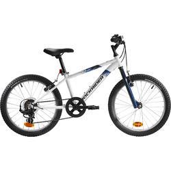 Mountainbike Kinder 20 Zoll Rockrider ST 120 weiß/blau