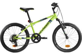 """_20""""_pouces_rockrider-mountain-bike-neon-yellow"""
