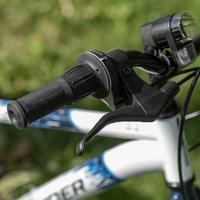 Vélo de montagne Rockrider ST120 20 pouces 6-9 ans blanc bleu - Enfants