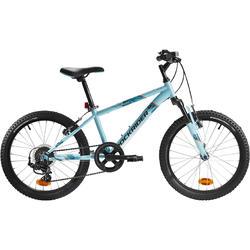 Kinder mountainbike Rockrider ST 500 20 inch kinderfiets blauw 1.20 tot 1.35m