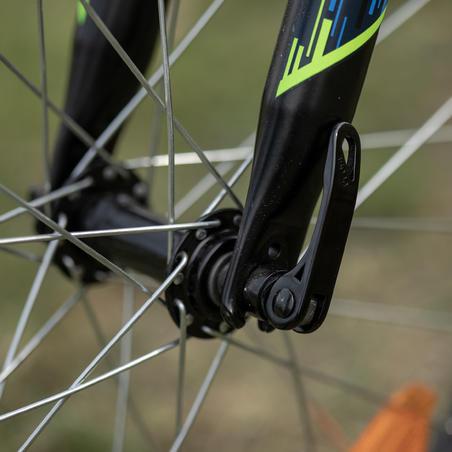 Vélo de montagne rockrider ST500 20 pouces 6-9 ans jaune fluo - Enfants