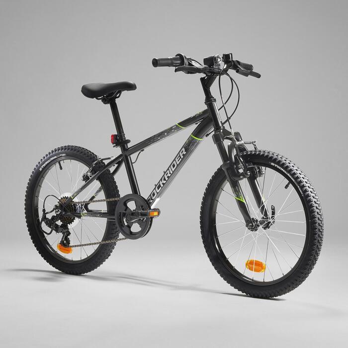 Mountainbike Kinder 20 Zoll Rockrider ST500 schwarz