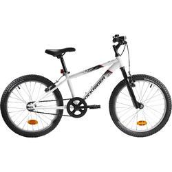Mountainbike Kinder 20 Zoll Rockrider ST 100 weiß