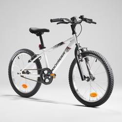 Mountainbike kind 20 inch Rockrider ST 100 6-9 jaar wit