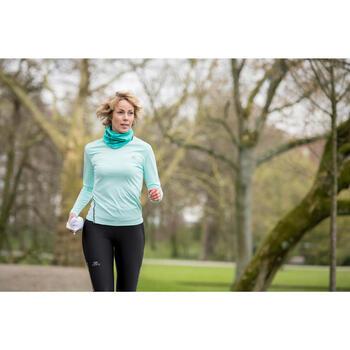 Nekwarmer voor hardlopen gemêleerd groen