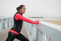 RUN WARM+ WOMEN'S WARM JOGGING TIGHTS BLACK