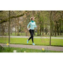 Braga cuello de running verde chiné