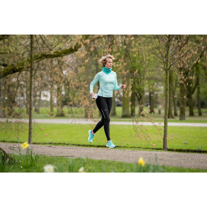 Cache cou de running vert chiné