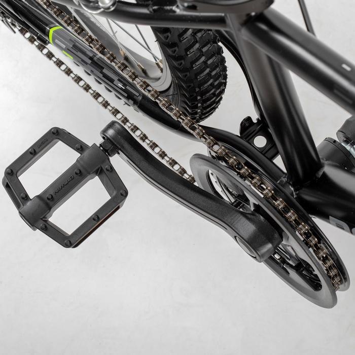 Mountainbike Kinderfahrrad 20 Zoll Rockrider ST500 schwarz