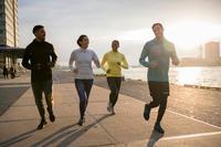 Women's Jogging Tights Run Dry+ - Blue