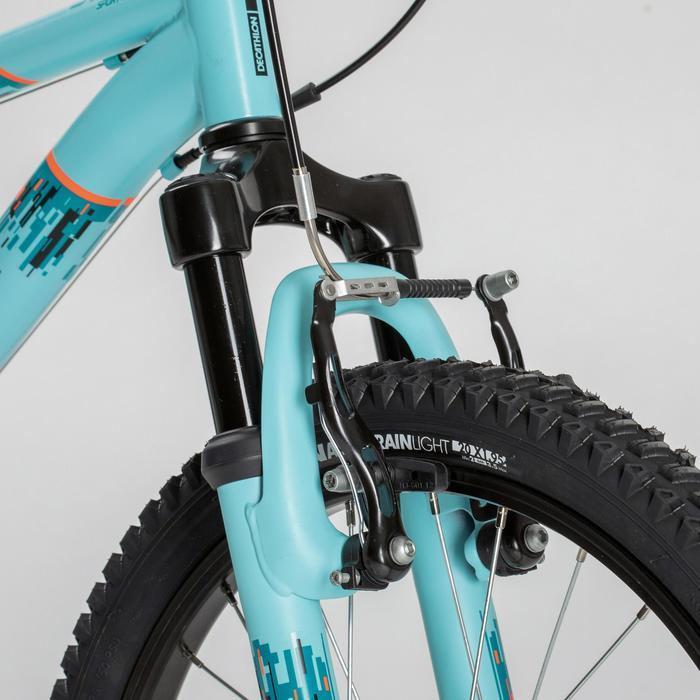 Mountainbike Kinderfahrrad 20 Zoll Rockrider ST 500 hellblau