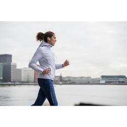 Joggingjas voor dames Run Rain wit