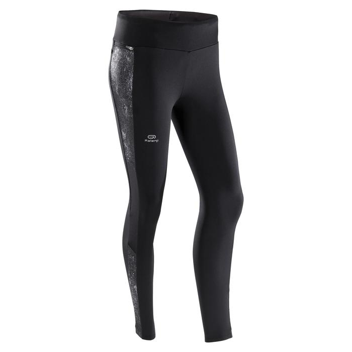 Laufhose Tights Run Warm+ Damen schwarz