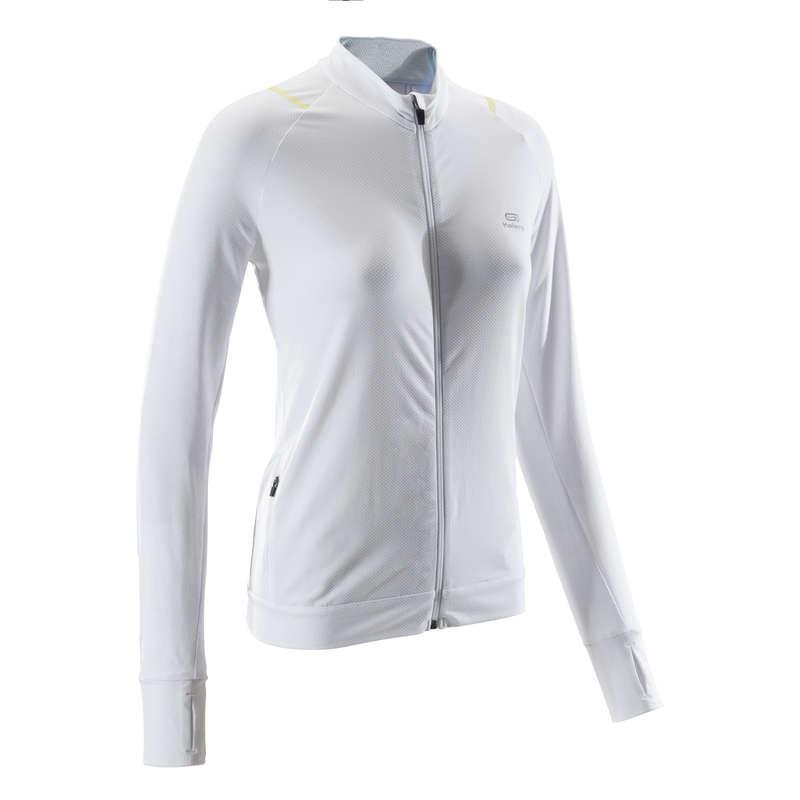DÁMSKÉ PRODYŠNÉ OBLEČENÍ NA JOGGING Běh - BĚŽECKÁ MIKINA RUN DRY KALENJI - Běžecké oblečení