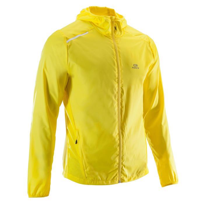 Lauf-Windjacke Run Wind Herren gelb