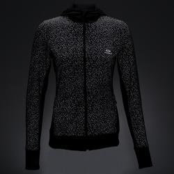女款夜跑外套RUN WARM - 黑色