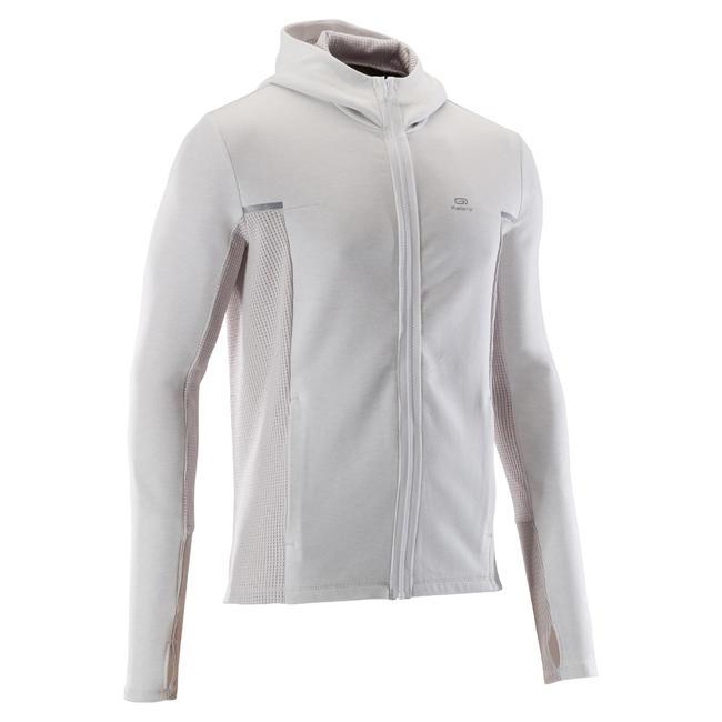 RUN WARM+ men's running jacket beige