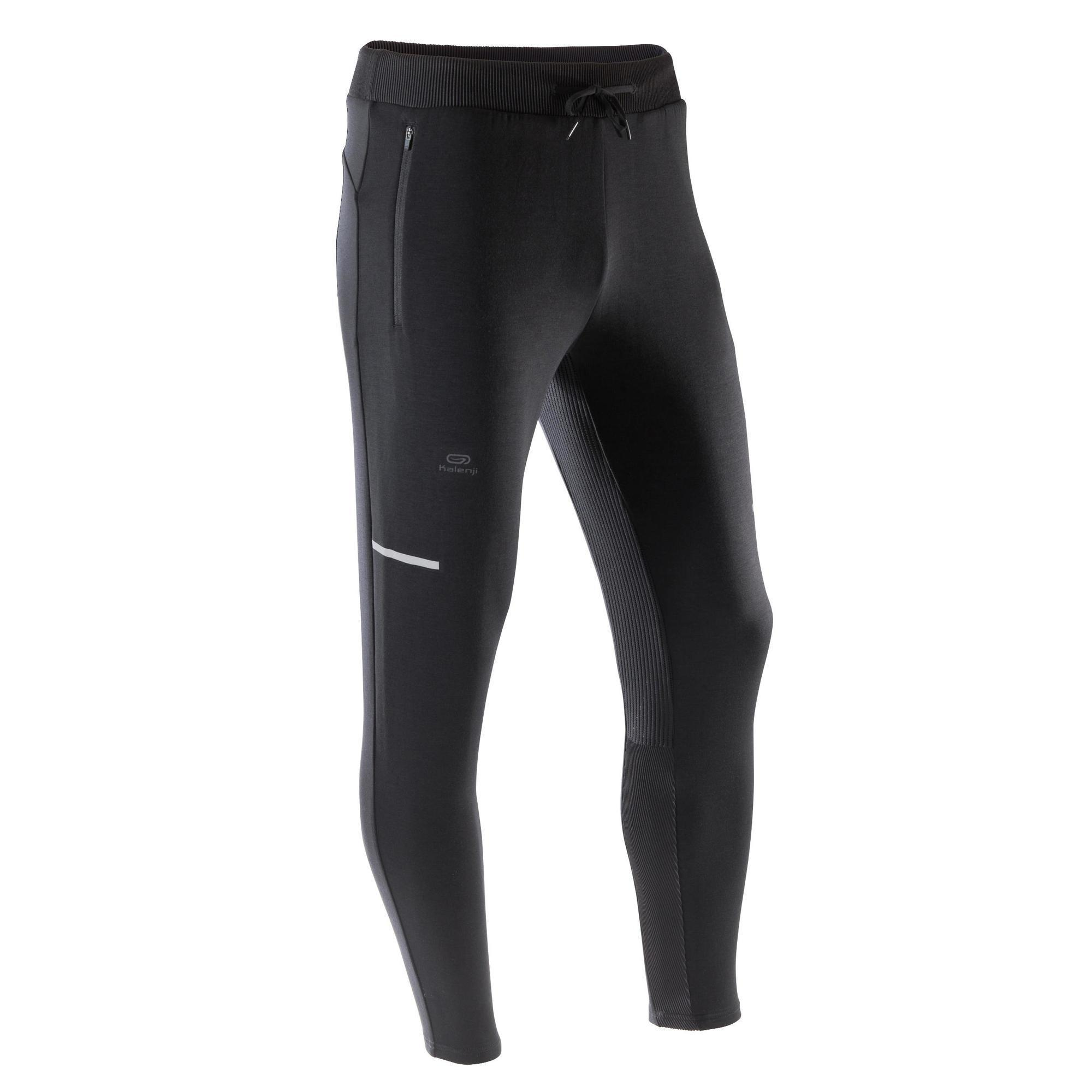 e0ab9fa2f23bb8 Decathlon | Herren Kalenji Laufhose lang Tights Run Dry Herren ...