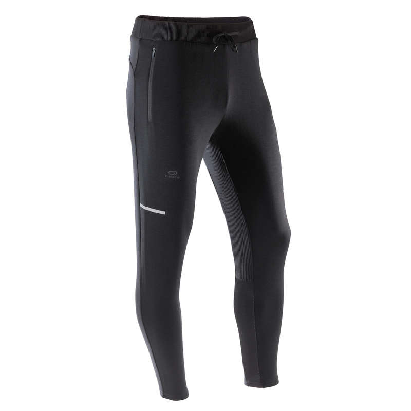 ÎMBRĂCĂMINTE VREME RECE JOGGING PRACTICARE CONSECVENTĂ BĂRBAȚI Alergare - Pantalon Jogging Run Warm+  KALENJI - Imbracaminte