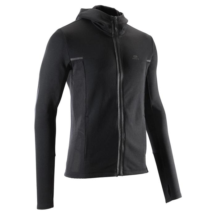 RUN WARM+ men's running jacket black