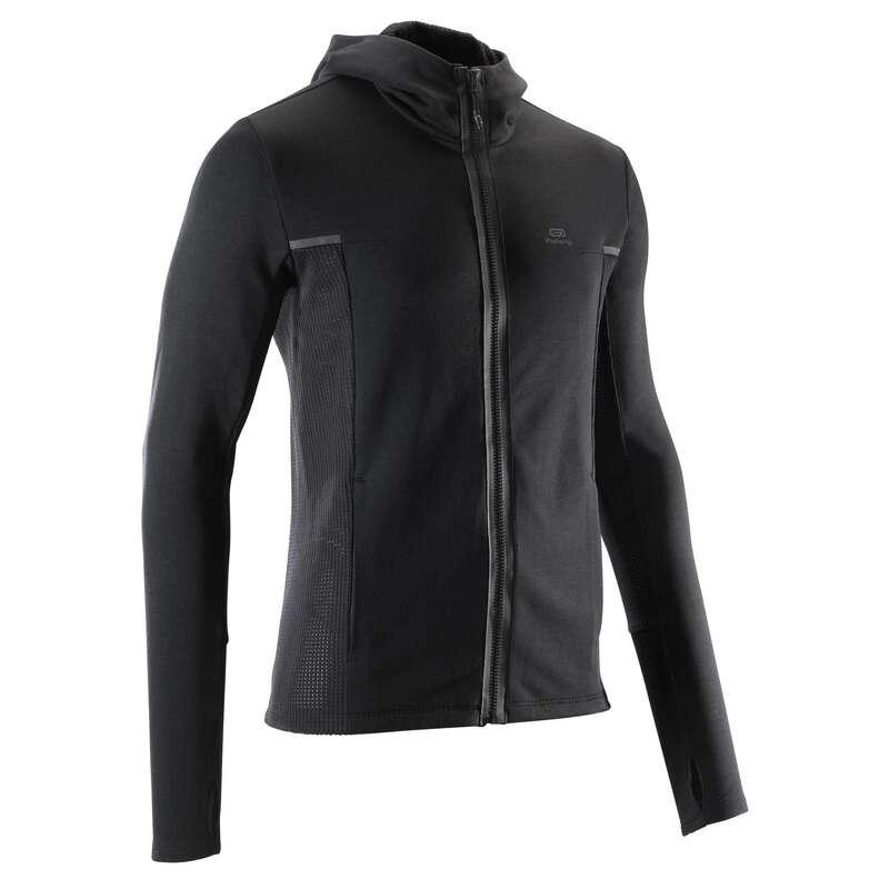ERKEK DÜZENLİ KOŞU SOĞUK HAVA GİYİM Koşu - RUN WARM+ CEKET KALENJI - Erkek Koşu Kıyafetleri