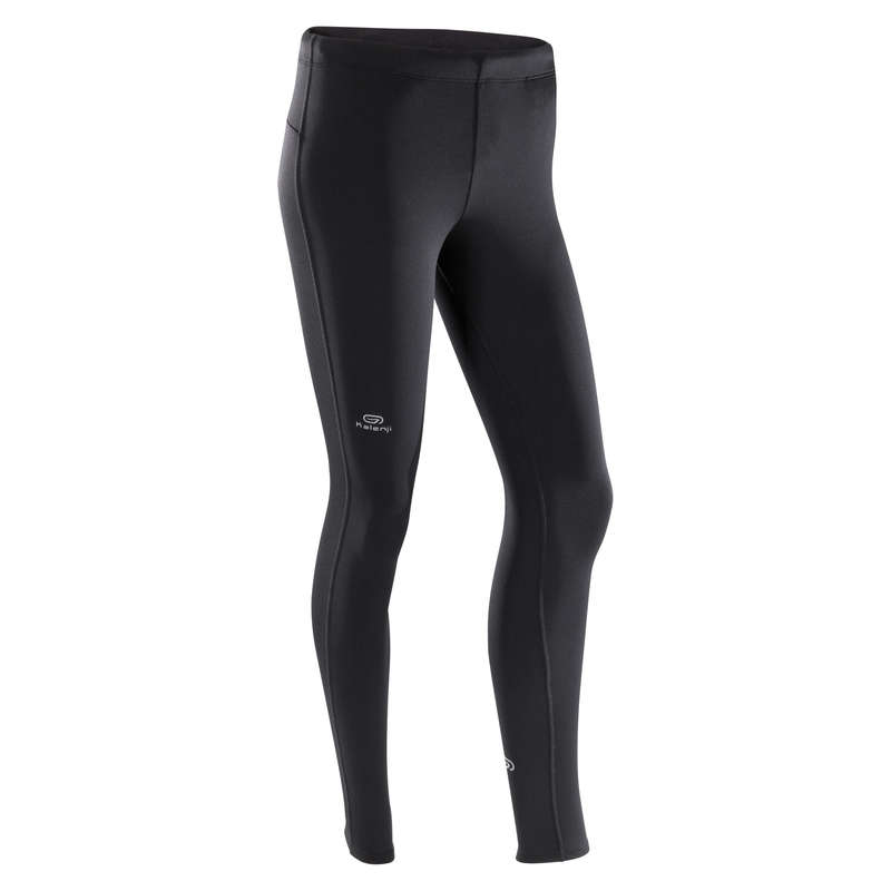 OCCASIONAL MAN JOG COLD WEATHER CLOTHES Clothing - RUN WARM MEN'S TIGHTS KALENJI - Bottoms