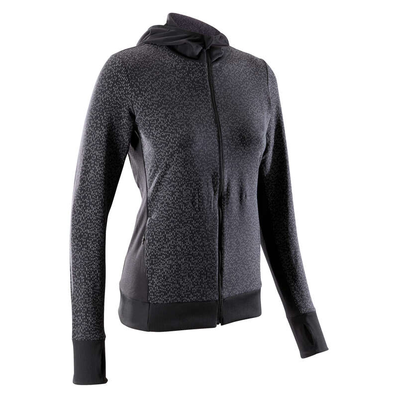REGULAR WOMAN JOG COLD WEATHER CLOTHES Clothing  Accessories - RUN WARM NIGHT JACKET KALENJI - Clothing  Accessories