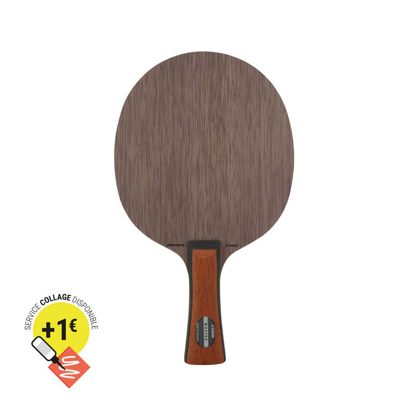 ACADEMIC BLADES & RUBBERS Table Tennis - Offensive Classic Blade STIGA - Table Tennis Accessories