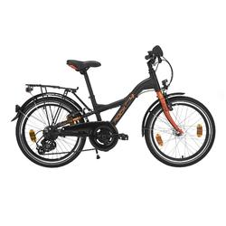 "Kinderfahrrad 20"" City Bike D4 Rock Alu schwarz/orange"