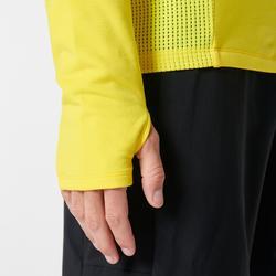 Laufsweater Run Warm+ Herren gelb
