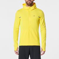 RUN WARM+ men's running jacket yellow