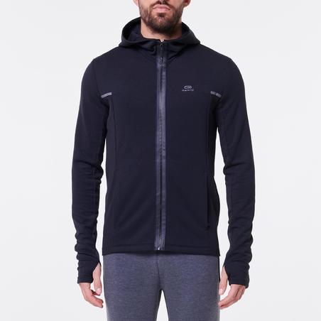 RUN WARM+ men's running jacket black