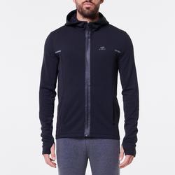 Hardloopjasje voor heren Run Warm+ zwart
