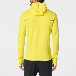 Hardloopjasje voor heren Run Warm+ geel