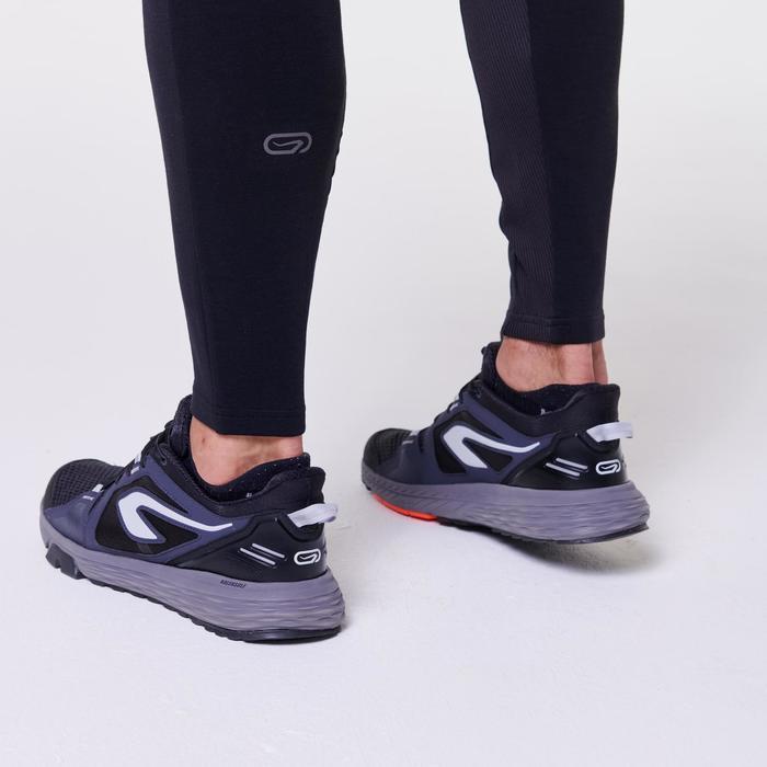 Joggingbroek voor heren Run Warm+ zwart
