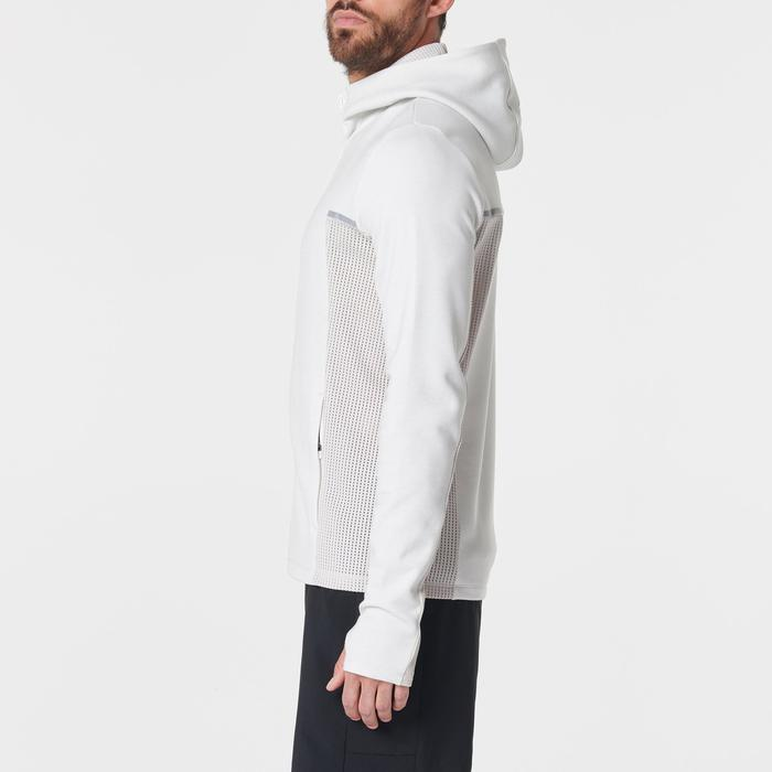 Hardloopjasje voor heren Run Warm+ beige