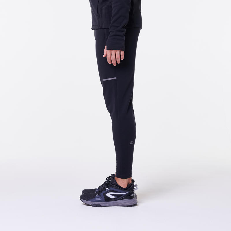 Pantalon de jogging homme RUN WARM+ Noir