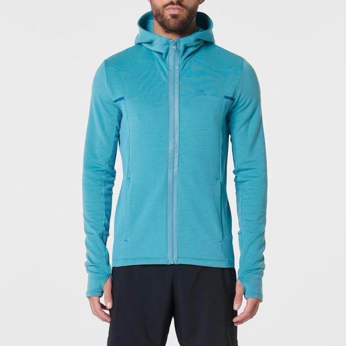 Hardloopjasje voor heren Run Warm+ groen