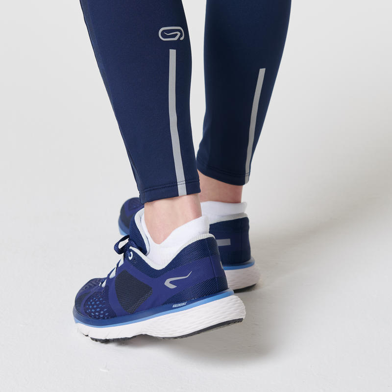 RUN WARM+ WOMEN'S WARM JOGGING TIGHTS BLUE