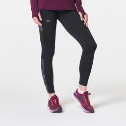 Run Warm+ Women's Warm Jogging Tights - Black