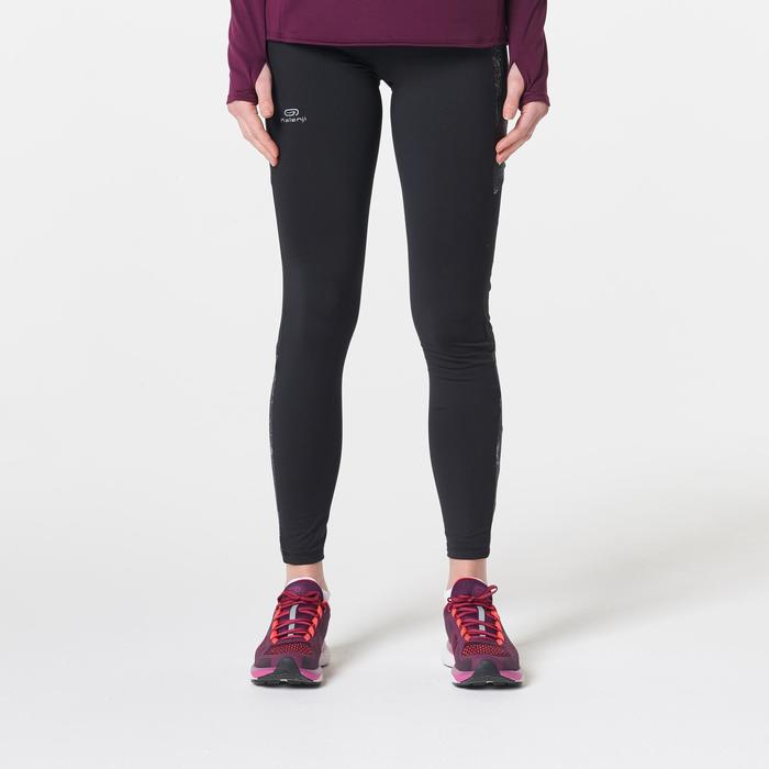 COLLANT CHAUD JOGGING FEMME RUN WARM + NOIR